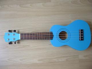 อูคูเลเลเล่ Ukulele รุ่น Color Blue Soprano