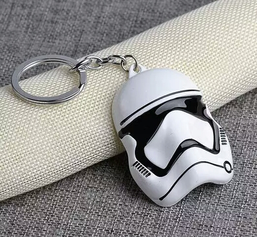 Storm Trooper Keychain Alloy