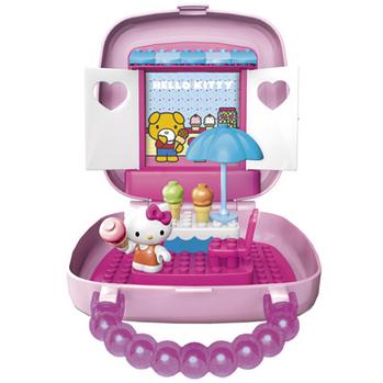 Hello Kitty Ice Cream Parlor เมก้าบล๊อค MG10874 [ส่งฟรี]