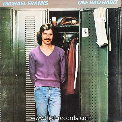 Michael Franks - One Bad Habit 1980 1lp