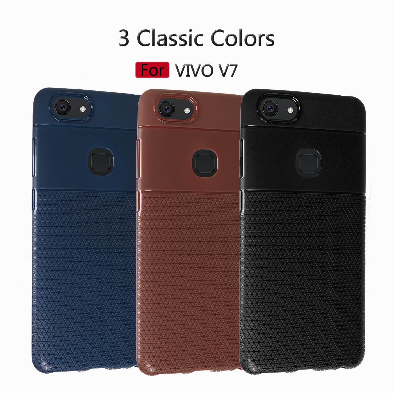 เคส VIVO V7 ซิลิโคนสีพื้นยืดหยุ่น สวยงามมาก ราคาถูก