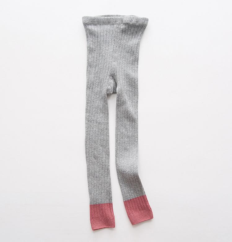 ถุงเท้าน้อง สีเทา แพ็ค 6 คู่ ไซส์ ประมาณ 125 ซม