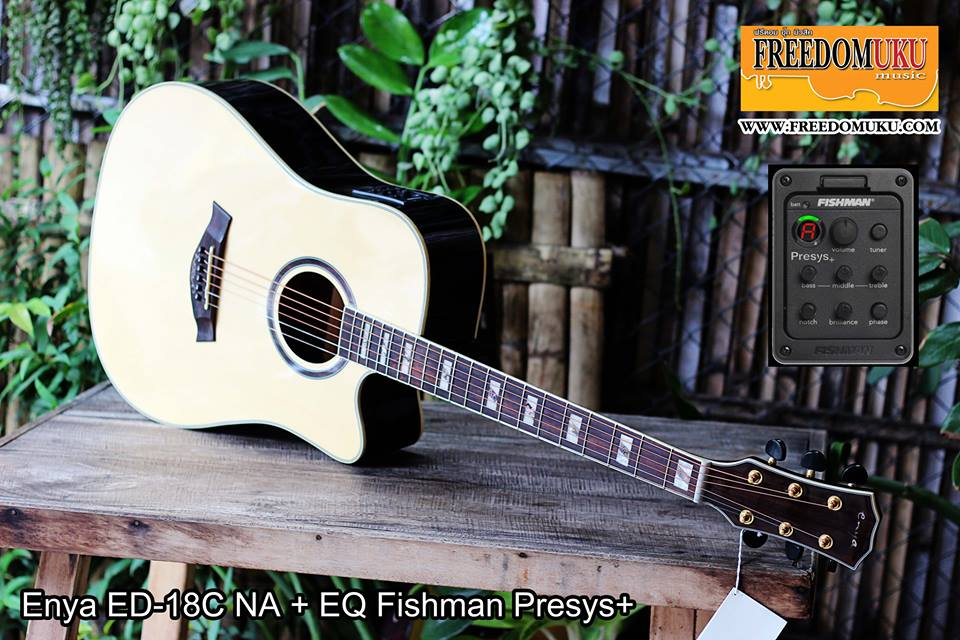 Enya ED-18C NA + EQ Fishman Presys+