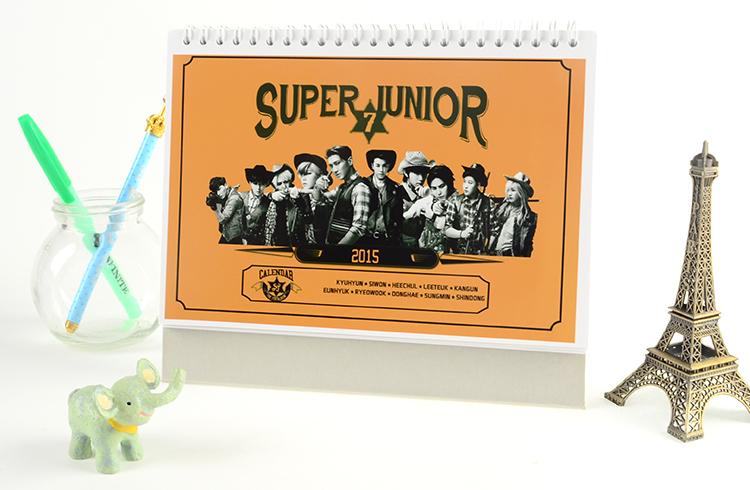 ปฎิทิน SJ SUPER JUNIOR 2015