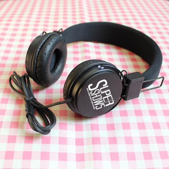 หูฟังSJ SUPER JUNIOR (สีดำ)