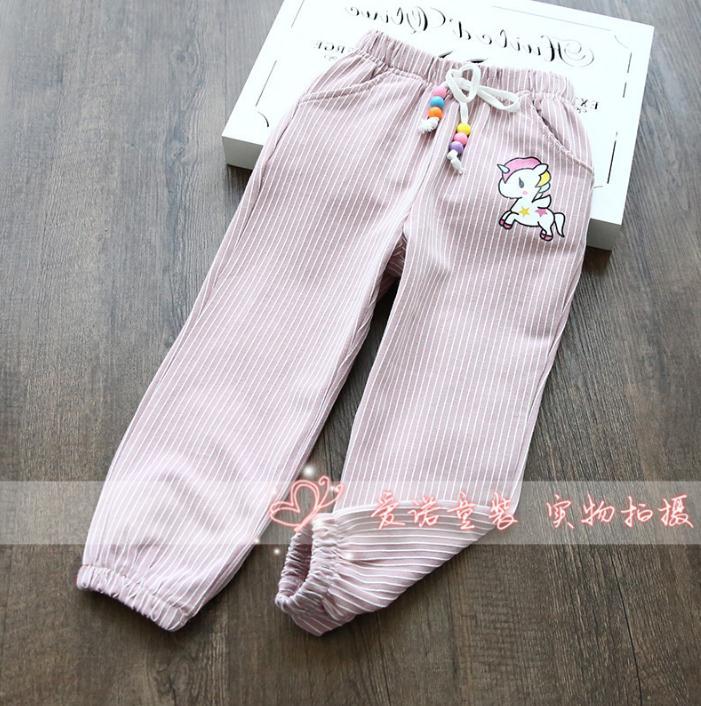 กางเกง สีชมพู แพ็ค 5 ชุด ไซส์ 90-100-110-120-130