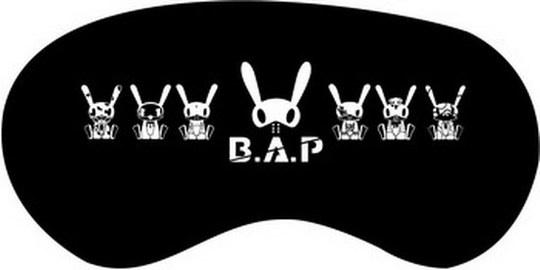 ผ้าปิดตา B.A.P สีดำ