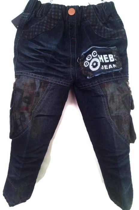 J8891กางเกงยีนส์เด็กชาย ขายปลีกในราคาส่ง ดีไซเท่ห์ทั้งด้านหน้า-หลัง เอวยางยืด เหลือ Size 3 และ 4 ขวบ