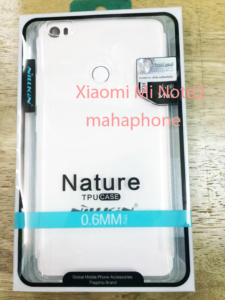 Mi Note2 Nillkin Nature TPU Case ใสแบบนิ่ม