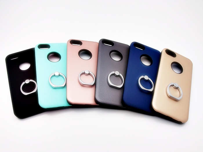 เคสกันกระแทก 2 ชั้น ติดแหวน ไอโฟน 6/6s 4.7 นิ้ว