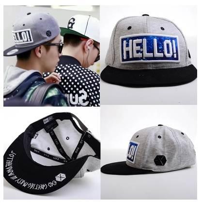 หมวกแฟชั่น EXO LUHAN HELLO