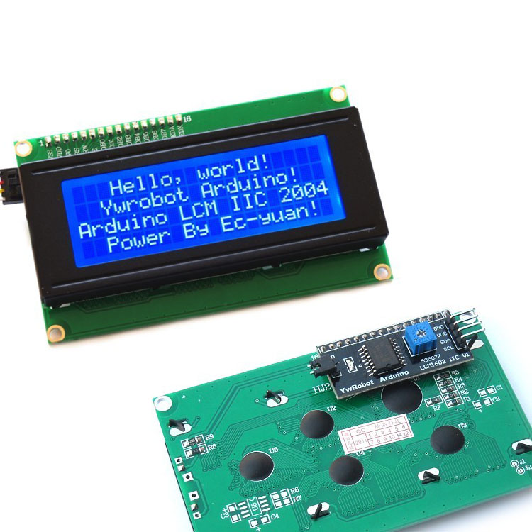 2004A 20x4 5V Character LCD Display Module SPLC780 Controller Blue Backlight