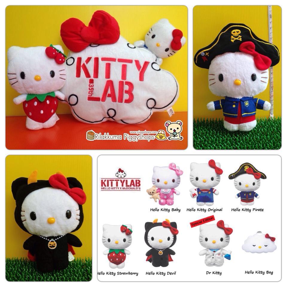 ตุ๊กตาคิตตี้โจรสลัด Hello Kitty # Pirate 35th Anniversary Limited Edition Kitty Lab