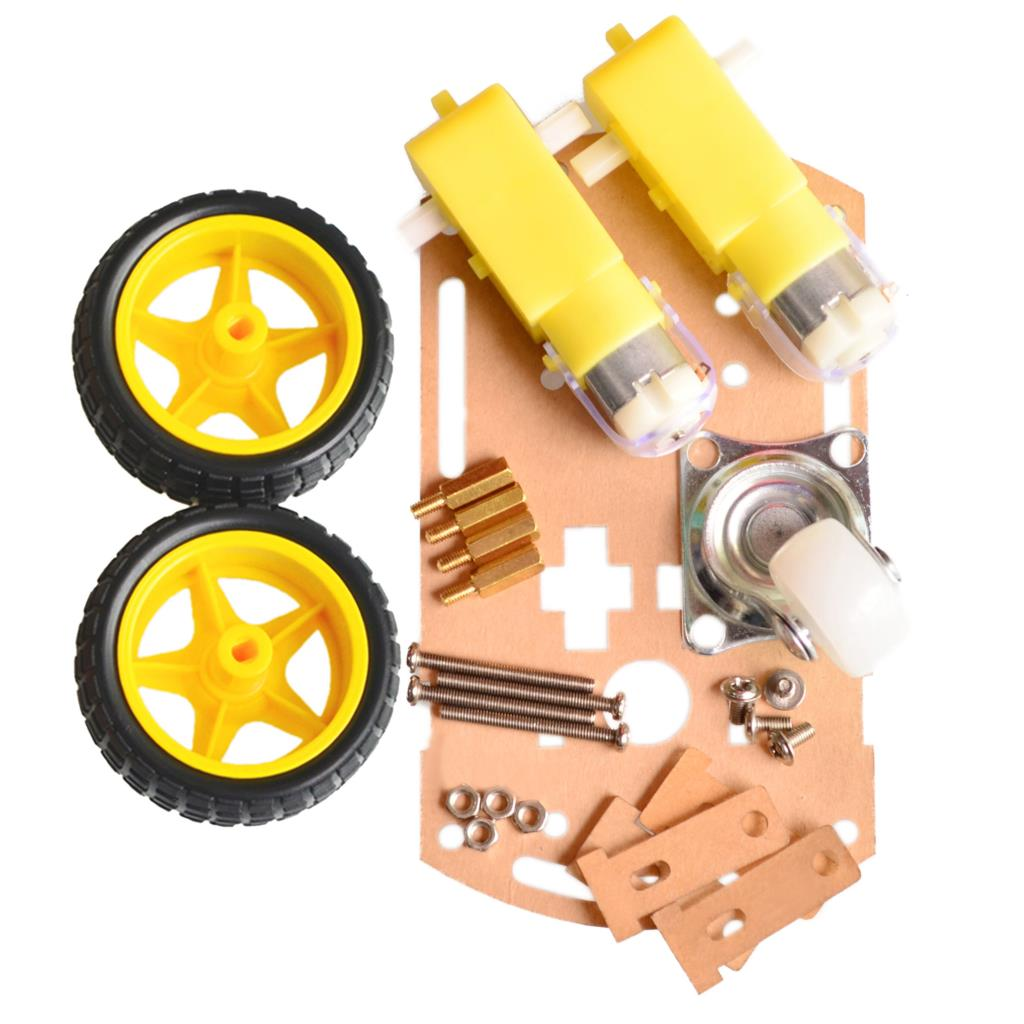 Mini 2WD Smart Car Robot Chassis Kits (ขนาดเล็ก)
