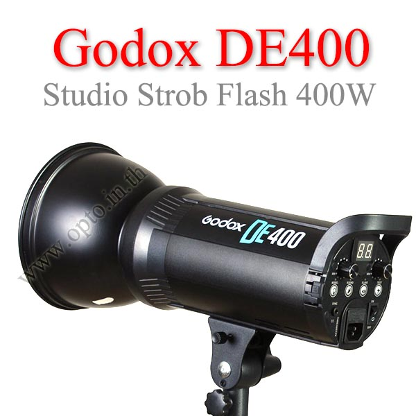 Godox DE400 DE-400 Studio Strobe Flash 400W แฟลชสตูดิโอ