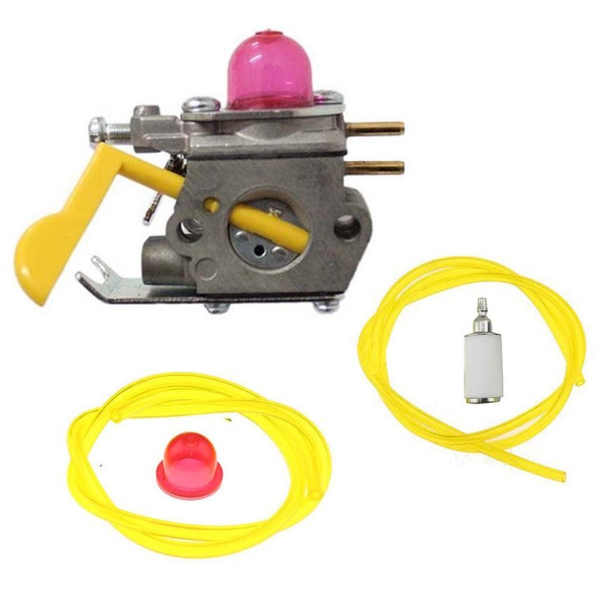 Aftermarket Carburetor+fuel filter Bulbs For Poulan Craftman Weed Eater String Trimmer #530071752 530071822 545081808