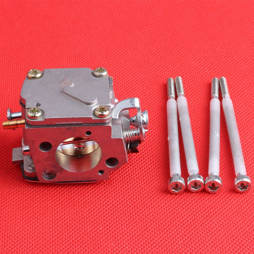 Chainsaw parts of Carburetor with Bolts Fit HUSQVARNA 61 268 272 Chainsaw Engine Motor Gas Carb