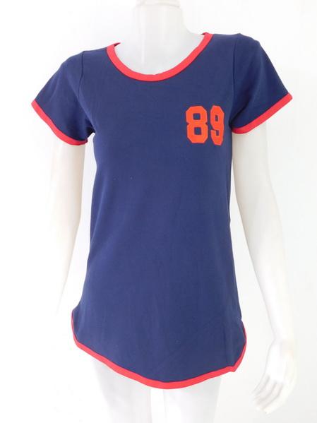 954795 ขายส่งเสื้อผ้าแฟชั่นผ้ายืดตัวยาวเนื้อดีค่ะ แบบเก๋ใส่สบายค่ะ รอบอก 36 นิ้ว
