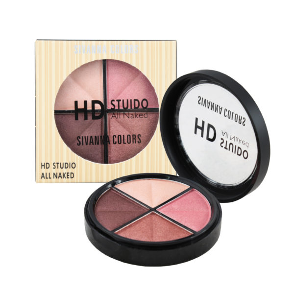 Sivanna Colors HD Studio All Naked HF588 อายแชโดว์ ราคา 85 บาท