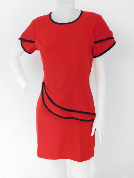 1209013 ขายส่งเสื้อผ้าแฟชั่น เดรสกระโปรงงานดีงานสวยจริง คุณภาพเกินราคาแน่นอน รอบอก 34 นิ้ว