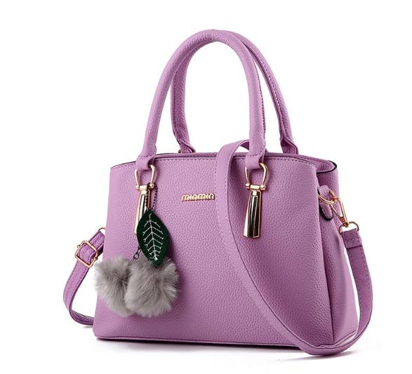 กระเป๋าสะพายข้างผู้หญิงฺ Berlyn สีม่วงไวโอเลต