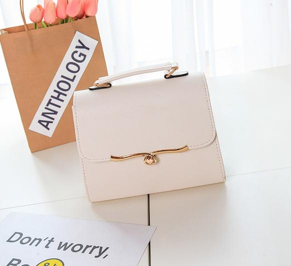 กระเป๋าสะพายข้างผู้หญิง ABA Lady (สีขาว)