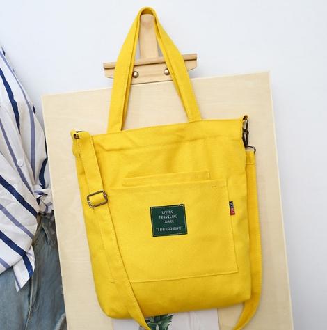 กระเป๋าผ้า LD001 YELLOW