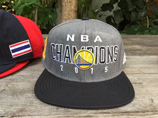 หมวก Adidas Golden State Warriors NBA Champions 2015