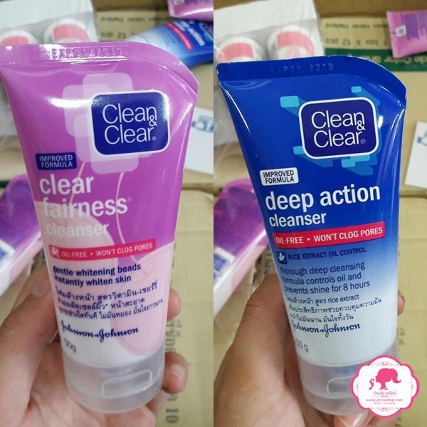 Clean & Clear คลีน แอนด์ เคลียร์ โฟมล้างหน้า