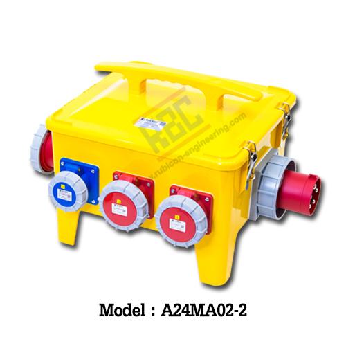A24MA02-2 กล่องกระจายไฟ (3P+N+E) 63A 400V