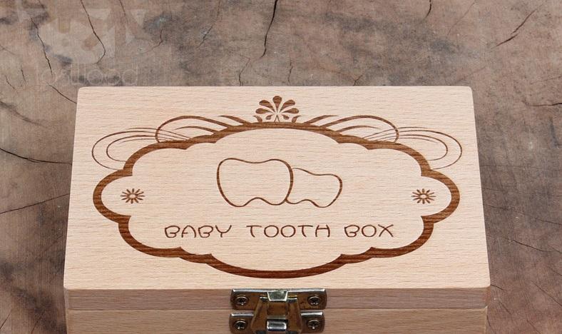 กล่องเก็บฟันน้ำนม BABY TOOTH BOX ลายฟันน้อยน่ารัก (รุ่นใหม่ มีจำนวนกัด) 200บาท