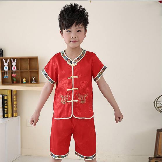 ชุดตรุษจีน เด็กชาย