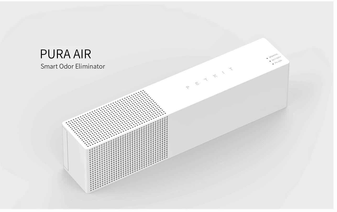 เครื่องกำจัดกลิ่นอัตโนมัติ PETKIT PURA AIR แถมโมดูลกำจัดกลิ่นเพิ่มอีก 1 ชิ้น