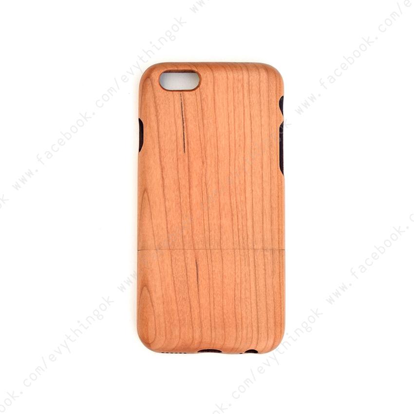 เคสไม้แท้ iPhone 6/6s ไม้เชอรี่