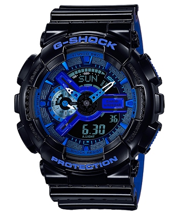 นาฬิกา CASIO G-SHOCK GA-110 SERIES รุ่น GA-110LPA-1A (Punching Pattern) ของแท้ รับประกัน 1 ปี