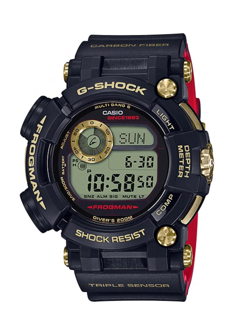 นาฬิกา Casio G-Shock 35th Anniversary Limited Edition GOLD TORNADO 2nd series รุ่น GWF-D1035B-1 ของแท้ รับประกันศูนย์ 1 ปี