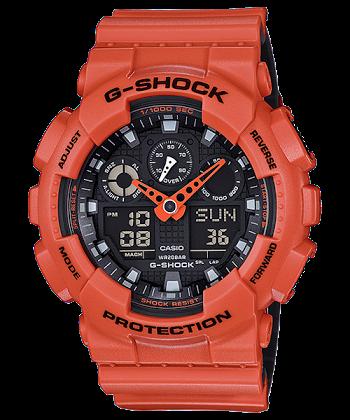 นาฬิกา CASIO G-SHOCK รุ่น GA-100L-4A ของแท้ รับประกัน 1 ปี