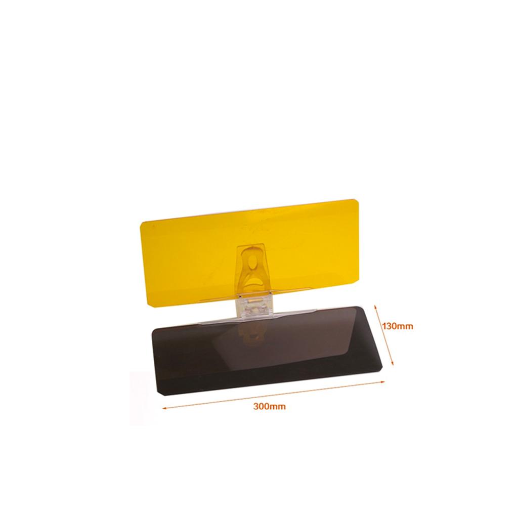Visor UV400 HD Vision ที่บังแดดสำหรับใบหน้าขณะขับรถ 1 ชิ้น