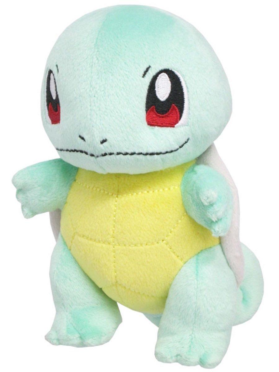 Squirtle Doll ของแท้ JP - Pokemon Center [ตุ๊กตาโปเกมอน] (เซนิกาเมะ)