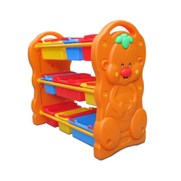 ชั้นเก็บของเล่นหน้าหมี ส่งฟรี