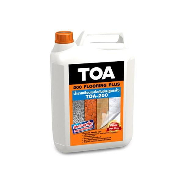 น้ำยาเคลือบเงาใสกันซึม สำหรับพื้น TOA-200