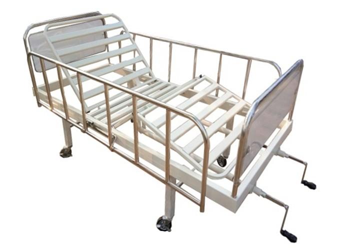 เตียงผู้ป่วย 2 ไกร์ มือหมุน