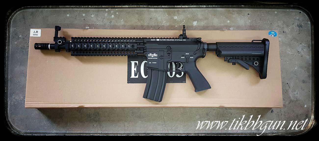 ปืนอัดลมไฟฟ้า M4 จาก E & C รุ่น 803S