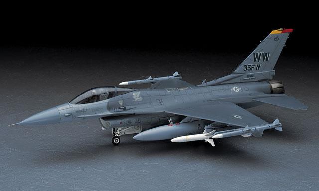 เครื่องบิน F-16CJ(BLOCK 50) Fighting Fallcon (1/48) Hasegawa (HA07232)