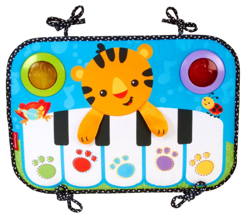 เปียโน Fisher-Price Kick N Play Crib Piano ไว้ติดที่เตียง หรือ นั่งกดเล่นที่พื้นก็ได้