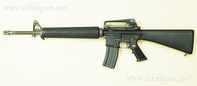 ปืนระบบแก๊สโบลว์แบ็ค M16A3 WE ไม่ยิงลาย เอาไปสร้างลายกันเองน๊า