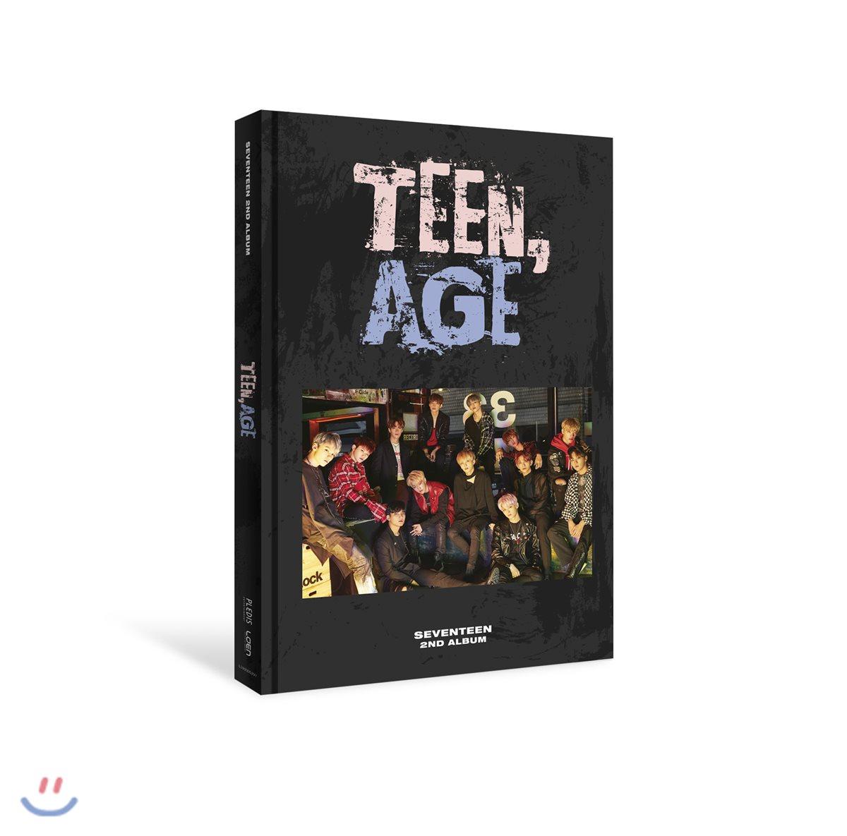 Seventeen - Album Vol.2 [TEEN, AGE] หน้าปก RS Ver