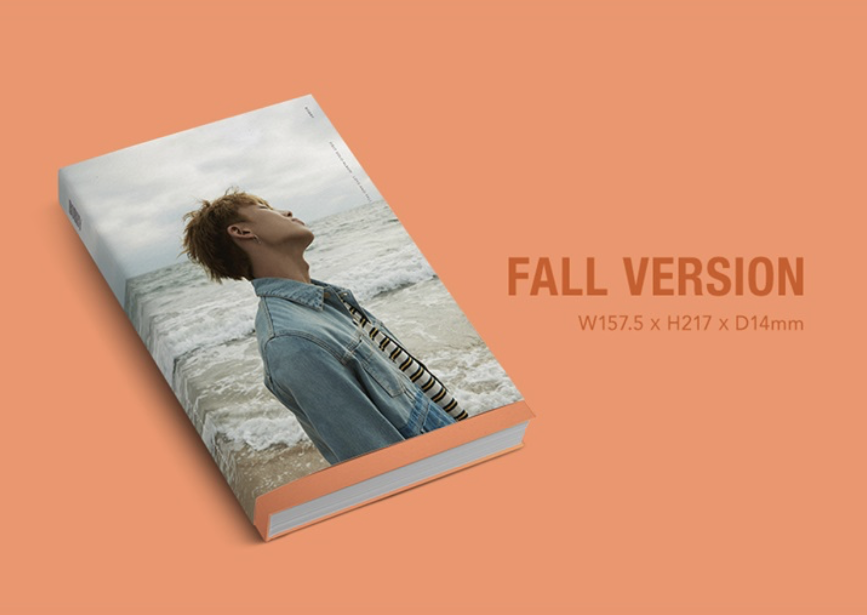 iKON : BOBBY - SOLO ALBUM VOL.1 [LOVE AND FALL] หน้าปก FALL ver