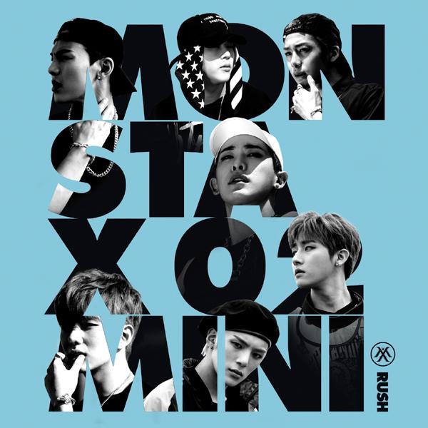MONSTA X - Mini Album Vol.2 [RUSH] Secret Ver.