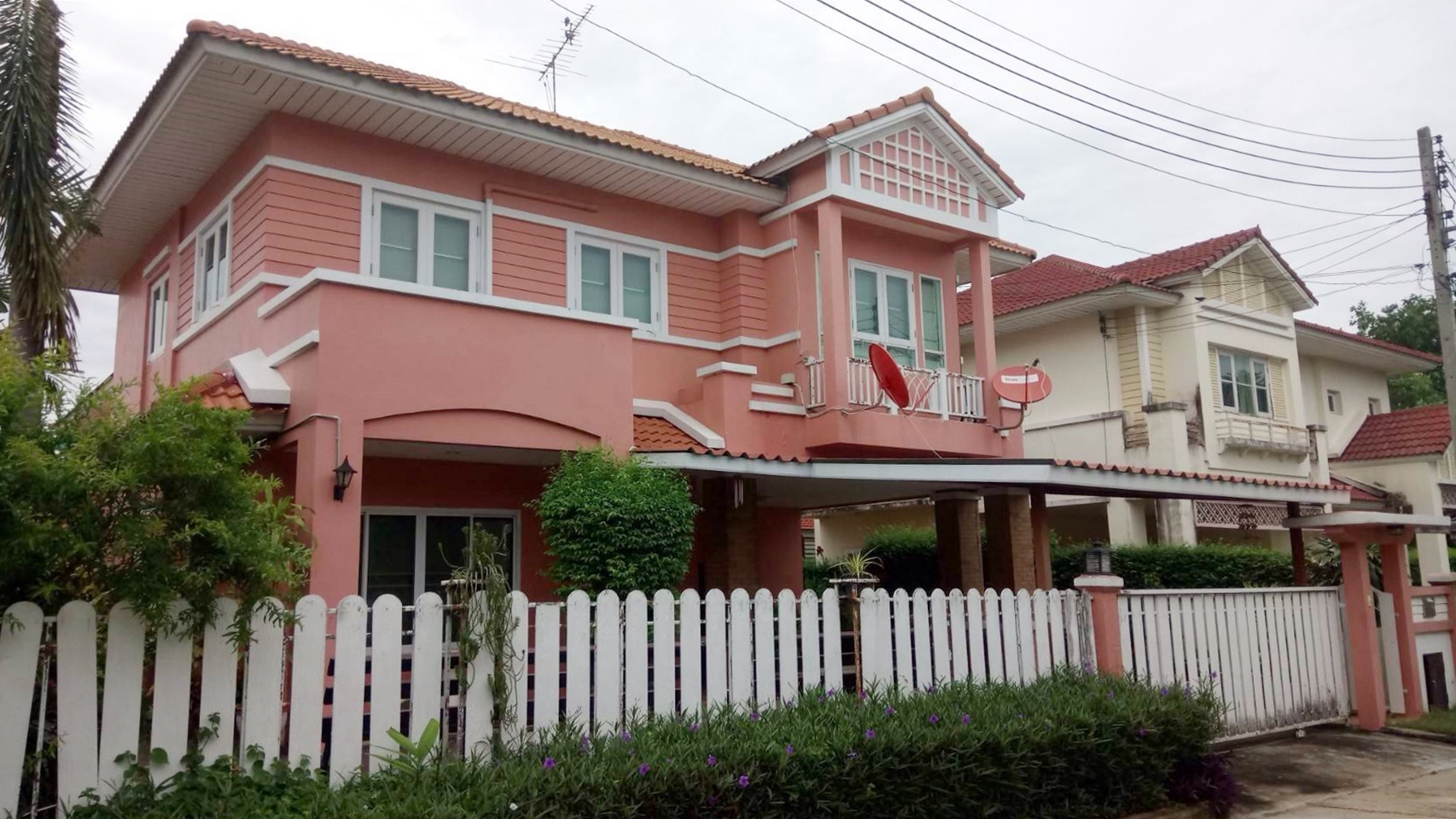 ขาย บ้านเดี่ยว หมู่บ้านมณีรินทร์ พาร์ค ปทุมธานี